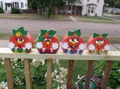 Painted Bricks Crafts, Brick Crafts, Painted Pavers, Tile Crafts, Painted Pumpkins, Cement Pavers, Painted Rocks, Brick Pavers, Halloween Crafts
