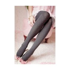 Polka dot gray tights polka dots and other apparel, accessories and trends. Browse and shop related looks.