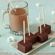 Hot Chocolate on a Stick. Great Christmas gift for a teacher or friend.