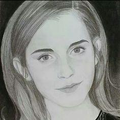 Emma watson Bleistift Zeichnung von Rene Stuth