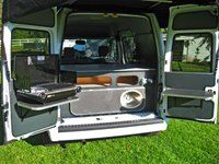 Ford Transit Connect Kevin Hornby Designs Camper Grill
