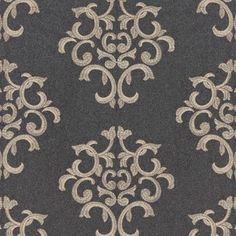 Byron Embroidered Wool | 66830 | in ​Charcoal