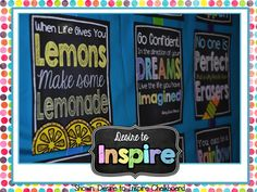 Desire to Inspire: Inspirational Subway Art... A Motivational Tool for the Classroom!