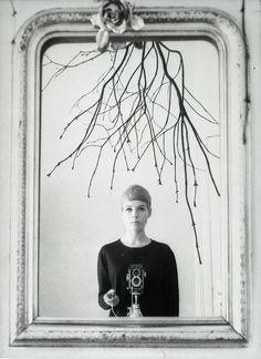 Astrid Kirchherr :: Self-portrait, Hamburg, Germany, 1960's