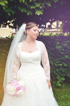 Svatební závoj dlouhý