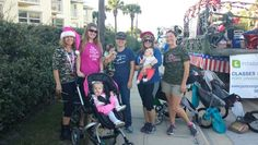 1st New Smyrna Christmas Parade Fit4Mom Port Orange-NSB & The Baby Shoppe