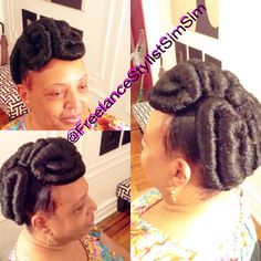Looking HAWTTTTTTTT for her event Babyyyyyyy Natural Hair Updo, Natural Hair Styles, Protective Hairstyles For Natural Hair, Updos, Fashion, Up Dos, Moda, Fashion Styles, Natural Updo
