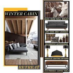 """""""Winter Cabin Fever"""" by latoyacl on Polyvore"""