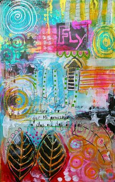 Art Journal - Fly by thekathrynwheel, via Flickr