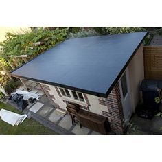 epdm rubber roofing membrane 114mm rubberall - Rubberised Roof Membrane