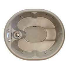 4 Person 12 Jet Rock Solid Luna Plug and Play Spa