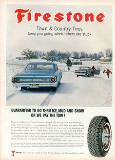 1964 Firestone Tire Advertisement Sports Afield October 1964 (by SenseiAlan)