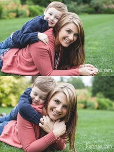 Mom & Son poses, Mommy & Me Session | Portland Family Photographer, Kari Rae Photography