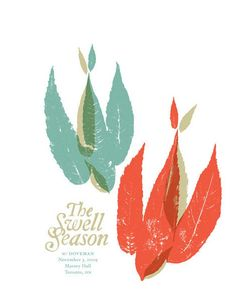 The Swell Season Concert Poster by Doublenaut
