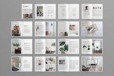 Layout Magazine by Leaflove on @creativemarket