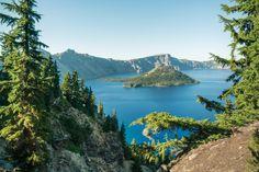 Crater Lake, Oregon, Pacific Crest Trail
