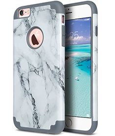 MoreChioce Compatible with iPhone 6 //6S Silicona Case,Simple Pattern Personality Black Back Cover Protection Anti-Scratch Flexible TPU Bumper Case Compatible with iPhone 6 //6S,