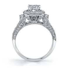 Candlelight 14K White Gold Diamond Engagement Ring 1 by Love4Lif3, $2500.00