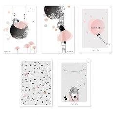 cartes-d_art-lune-fleurs-rose-fille-chambre-bebe-enfant-lilipinso-p0137-img02