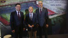 (Video) El FC Barcelona presenta su nuevo estadio