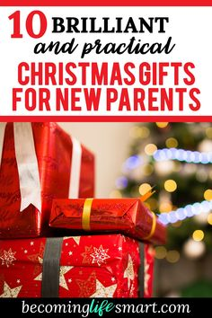 10 brilliant and practical christmas gifts for new parents
