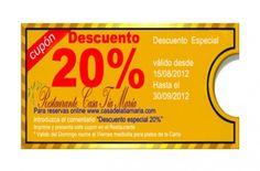 Oferta 20 % Dto en Carta - Empresas Gay Friendly