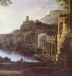 Landscape with the nymph Egeria and Numa - Claude Lorrain