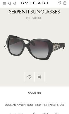 0f5b33c3d48f BVLGARI Sunglasses Women Serpenti  fashion  clothing  shoes  accessories   womensaccessories  sunglassessunglassesaccessories (ebay link). Rina Sell