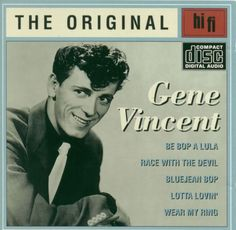 Gene Vincent, album cover.