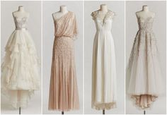 Vintage Wedding Dresses 2015, zomg the second dress is to die for.