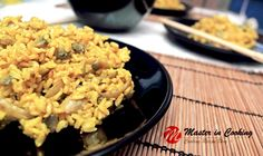 Brown Rice with Mushrooms