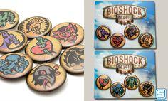 #Bioshock Infinite Vigor Pin Packs by Sanshee ($4.99)