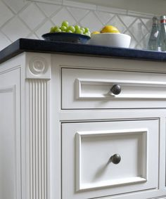 We love the trim on these kitchen cabinets inspired by vintage dressers. | Photo: Julian Wass | thisoldhouse.com