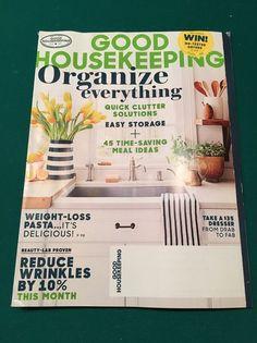 GOOD HOUSEKEEPING  Magazine - Organize Everything - March, 2016