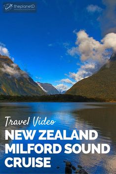 Have you dreamed of going to New Zealand? When you do go to the island nation, chances are you will go on a Milford Sound Cruise | Travel Video | The Planet D: Adventure Travel Blog