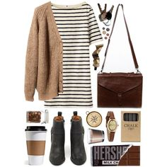 A fashion look from May 2013 featuring Pull&Bear cardigans, Jeffrey Campbell ankle booties and Infinite watches. Browse and shop related looks.