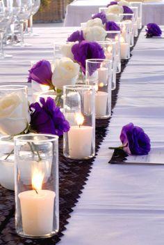 Purple Lisianthus - Photo Courtesy of Iconic Bride Photography