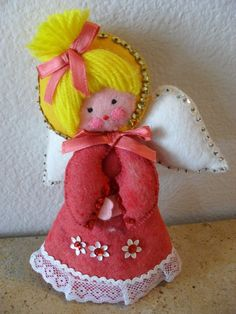 felt Christmas angel