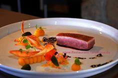 Entenbrust | Kürbis | Koratte & Ingwer im Schürers Restaurant Tafelhaus in Backnang bei Stuttgart
