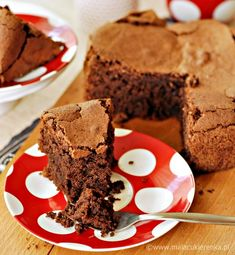 chocolate cake without flour Gluten Free Desserts, Sweets Recipes, Tea Recipes, Cake Recipes, Sweet Desserts, Delicious Desserts, Yummy Food, Food Cakes, Cupcake Cakes