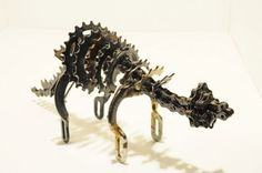 Cyclosaurus - bicycle parts - the recycler