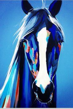Horse Canvas Painting, Painting & Drawing, Watercolor Paintings, Horse Drawings, Art Drawings, Street Art Banksy, Horse Artwork, Arte Pop, Equine Art