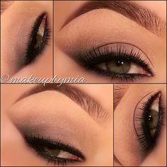 Winged eyeshadow