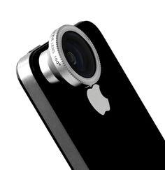 Mujjo Fisheye Pro lens... for iPhone... nice!