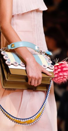 MARIABONITA♡ — Fendi SS-2017 Ready To Wear Collection Details