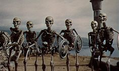 Jason and the Argonauts (1963), the army of the dragon's teeth.