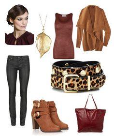 Wine in Comfort Winter #Fashion Look by thislilpiglet.net #women #fashionlook