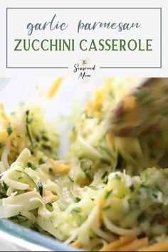 Zucchini Dinner Recipes, Zucchini Side Dishes, Dinner Casserole Recipes, Healthy Casserole Recipes, Zuchinni Recipes, Zucchini Casserole, Veggie Dishes, Healthy Zucchini Recipes, Vegetable Recipes