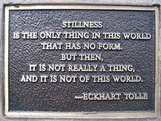 Eckhart Tolle - Stillness is not of this world. Visit Waverider @ http:/www.waveridermp3.com #eckhart tolle #brainwaves