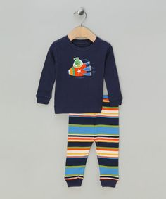 Take a look at this Rocket Pyjamas by Leveret Baby Inc. on #zulily today!